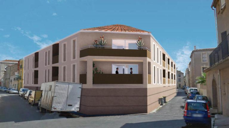 FLORENSAC - PATIO DE FLORENSAC - 2022- 17 logements - Archigroup
