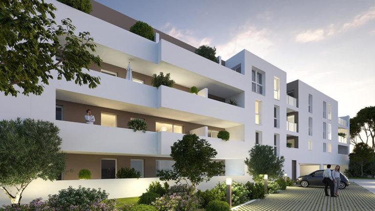 AGDE - LES AMANDIERS - 71 logements - 2022 - ArchiGroup