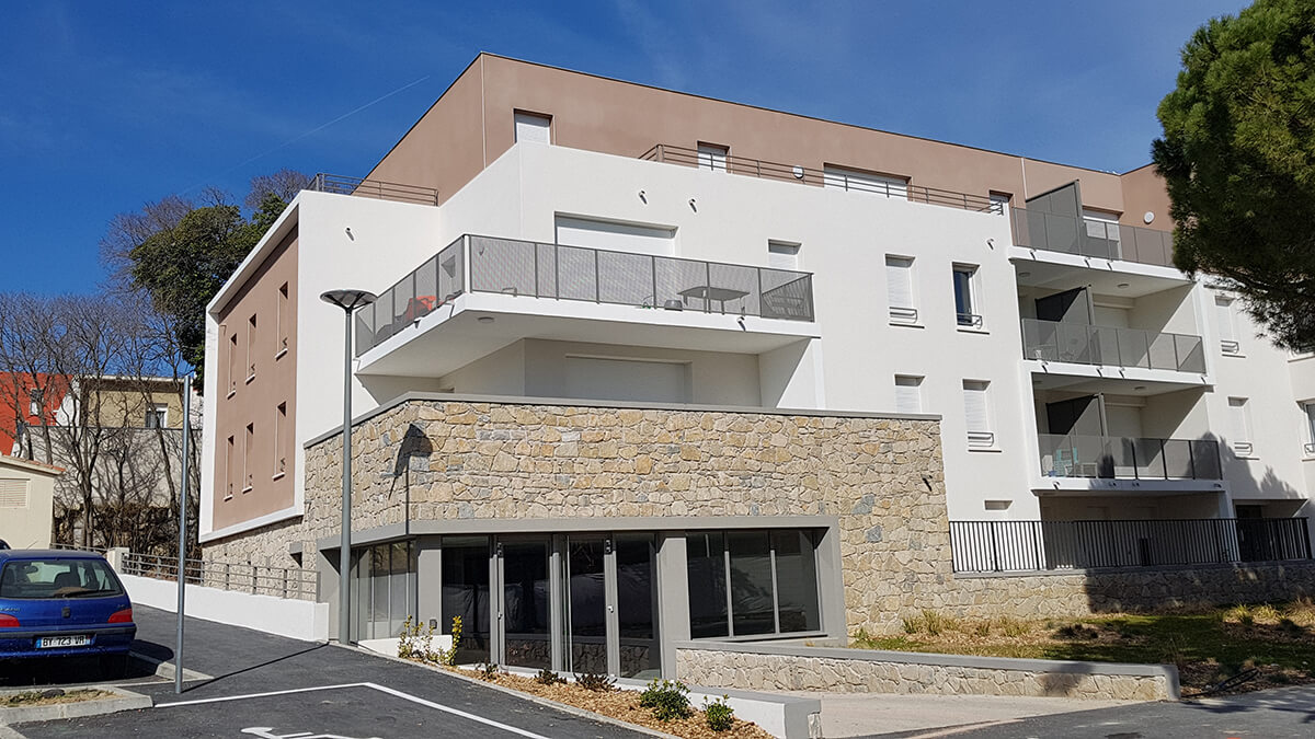 Residence Frederic Bazille - JUVIGNAC - 2019 - 82 logements - ACT-1