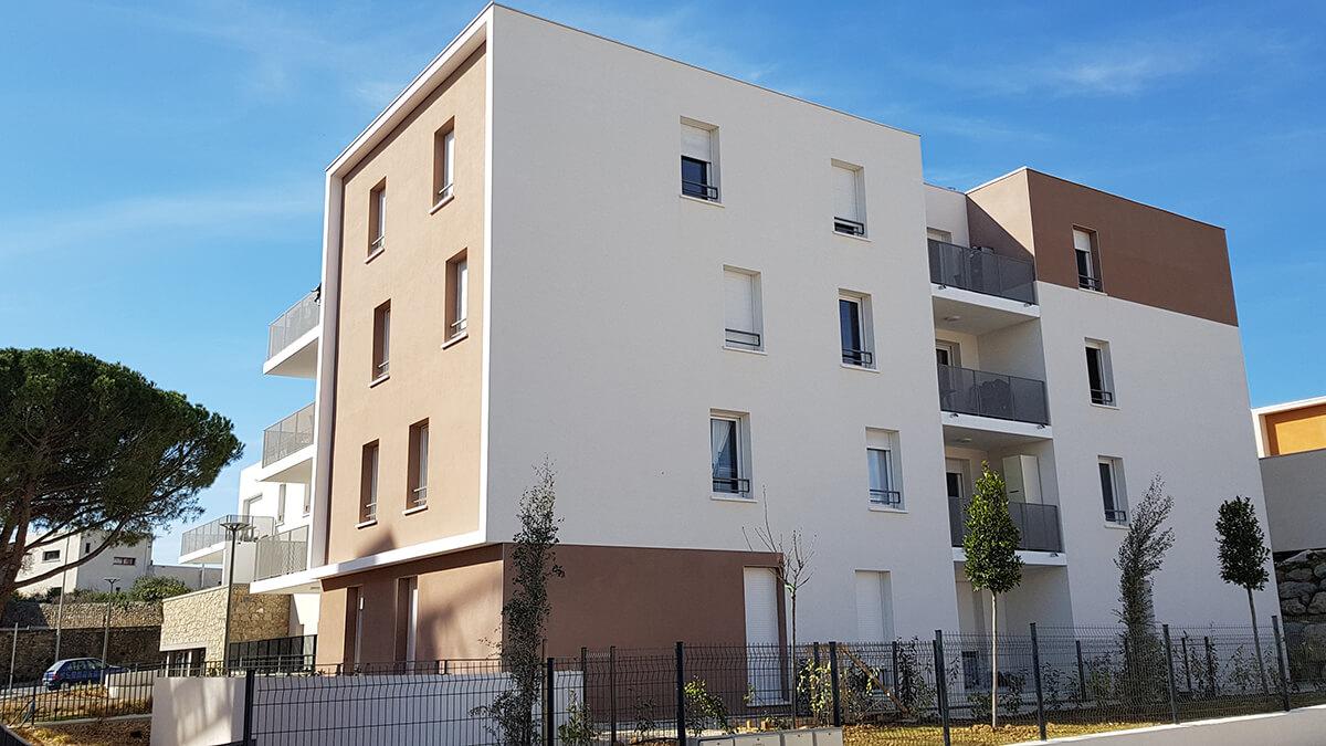 Résidence Frederic Bazille - JUVIGNAC - 2019 - 82 logements - ACT-2